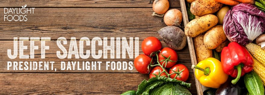 Jeff Sacchini Joins Daylight Foods as President!