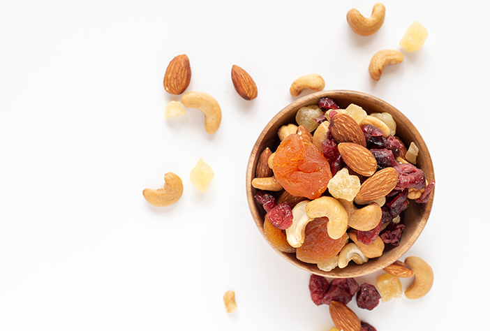 DRIED FRUIT+NUTS